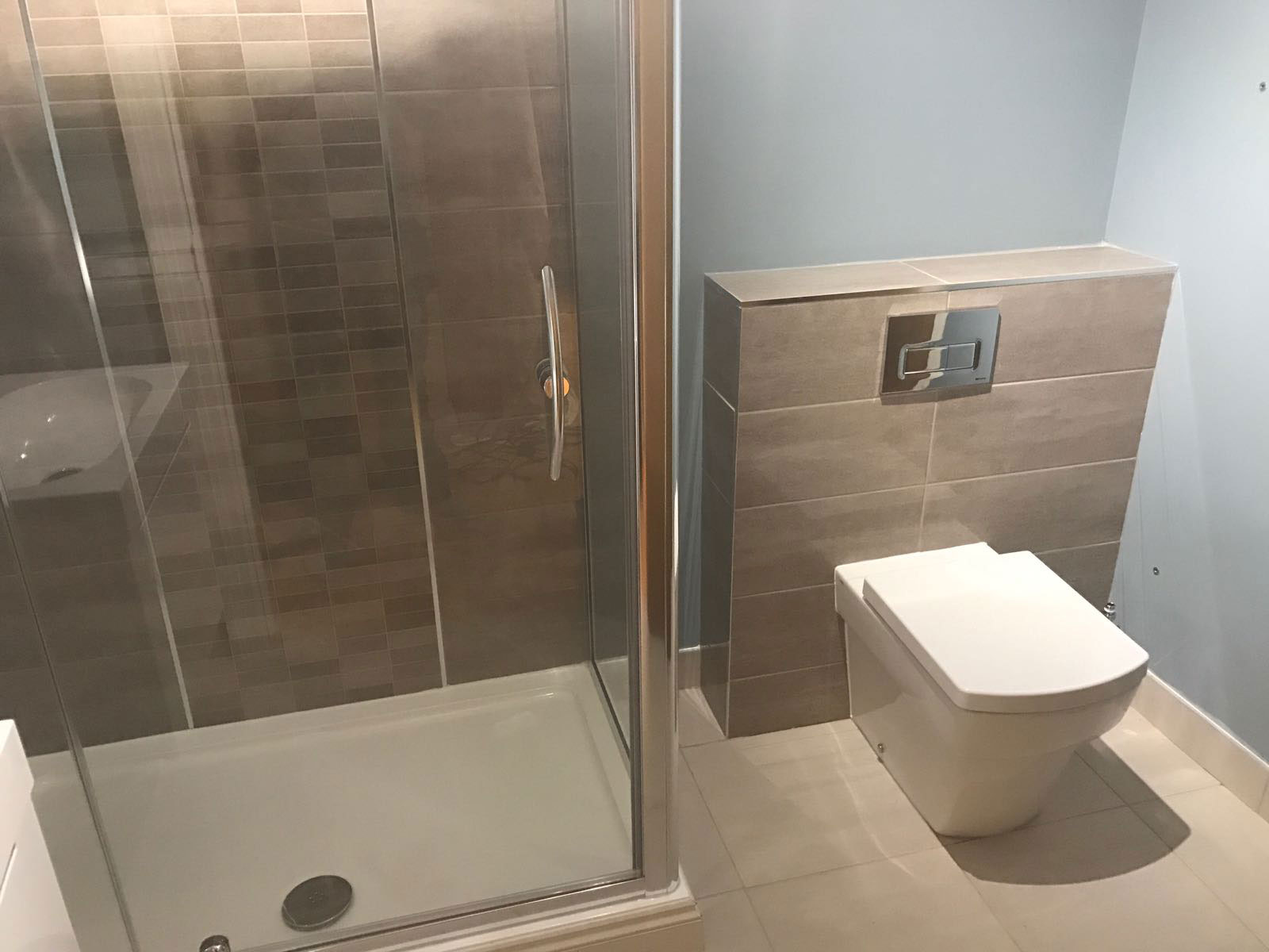 Two New Bathroom Suites Installations In Moseley Birmingham